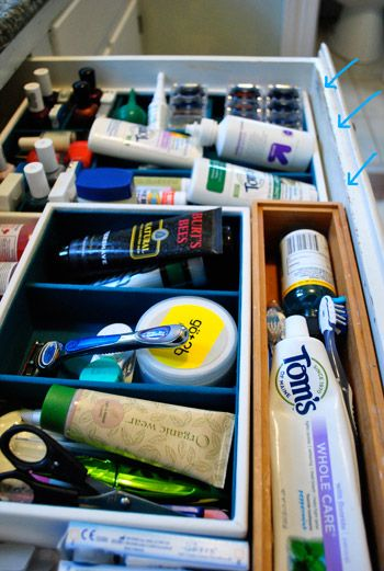 Young House Love | Some Bathroom Drawer Organization To The Rescue