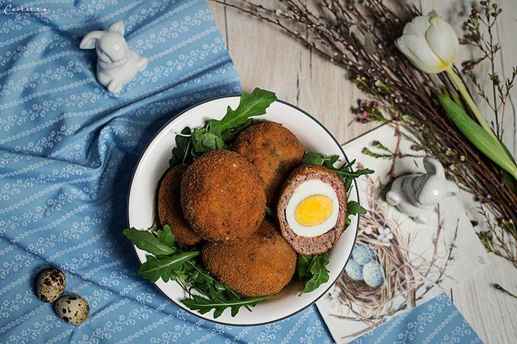 Schottische Eier in Panier