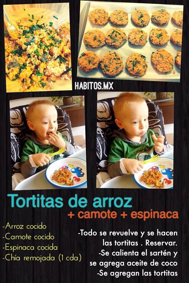 tortitas de arroz http://www.habitos.mx/bebes-ninos/tortitas-de-arroz/
