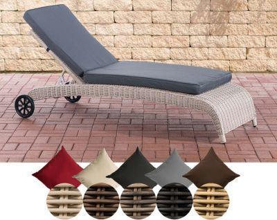 Sonnenliege ASTI aus Aluminium & Polyrattan, 5mm Rundgeflecht, inkl. dicker Auflage, bequeme Gartenliege, Jetzt bestellen unter: https://moebel.ladendirekt.de/garten/gartenmoebel/gartenliegen/?uid=7138f6da-3fa4-54d3-a92e-4256f1ec9e14&utm_source=pinterest&utm_medium=pin&utm_campaign=boards #gartenliegen #garten #gartenmoebel Bild Quelle: plus.de