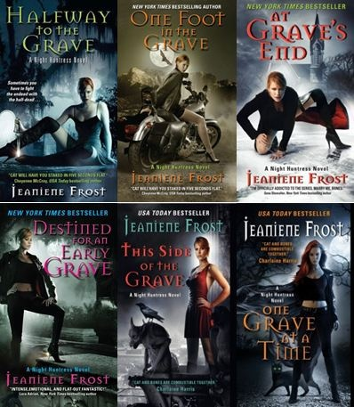 Night Huntress series by Jeaniene Frost Reading order: http://paranormalromancereads.com