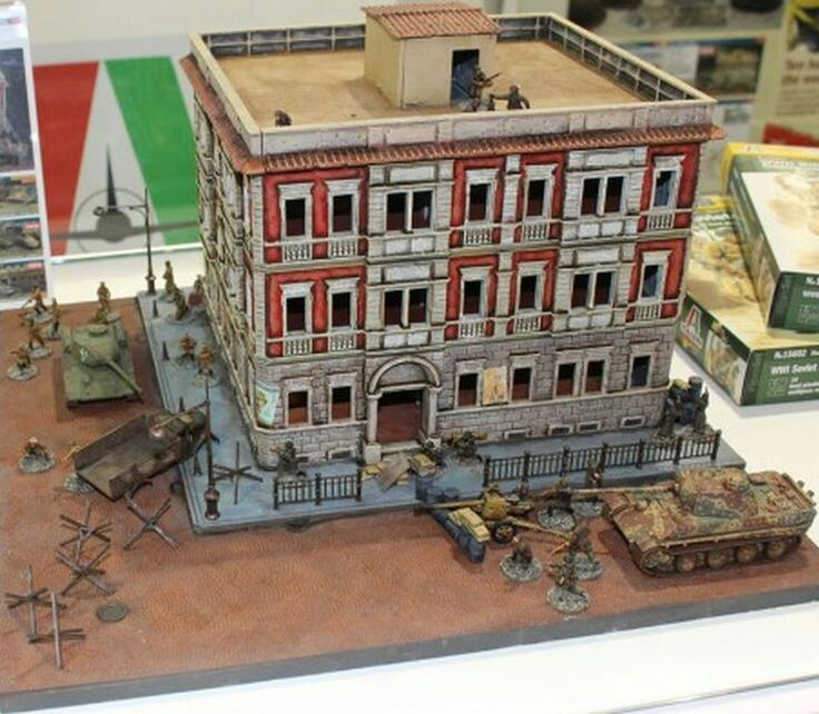 17 best images about wwii diorama ideas on pinterest the roof panzer iv and enemies - Mobeltown berlin ...