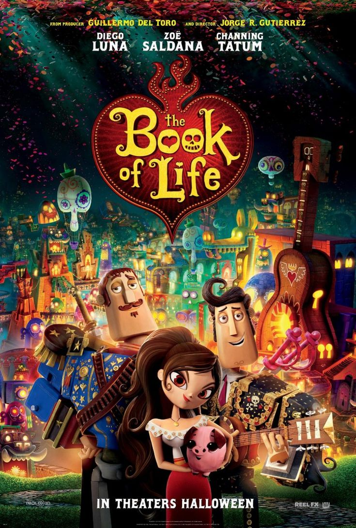 TODAY'S PICTURE OF THE DAY: The Book Of Life Movie Poster