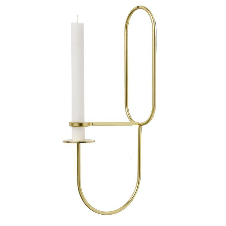 Lup Oblong väggljusstake från HAY. En ljusstake som både är en snygg dekoration ...