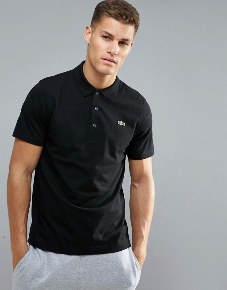 Get this Lacoste Sport's polo shirt now! Click for more details. Worldwide shipping. Lacoste Sport Textured Ribbed Golf Polo Shirt in Black - Black: Polo shirt by Lacoste Sport, Ribbed cotton, Textured finish, Polo collar, Button placket, Signature Lacoste logo, Fitted cuffs, Regular fit - true to size, Machine wash, 100% Cotton, Our model wears a size Medium and is 193cm/6'4 tall. Known for its iconic crocodile logo, Lacoste draws on its rich sporting history with its line of activewear…