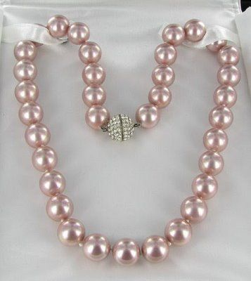 I definitely asked David Morgan for a strand of pink pearls for Christmas. LOVE.