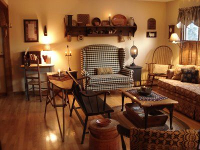 primitive living rooms. Welcome to Country Sampler Readers  I have learned that many people already received their March issue of 202 best Primitive Livingroom images on Pinterest