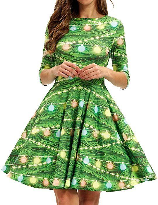 3c8281db53 GLUDEAR Christmas Dress