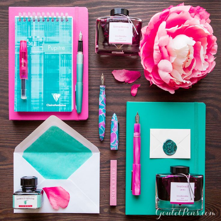 Goulet Pens Blog: Thursday Things: Water Lily