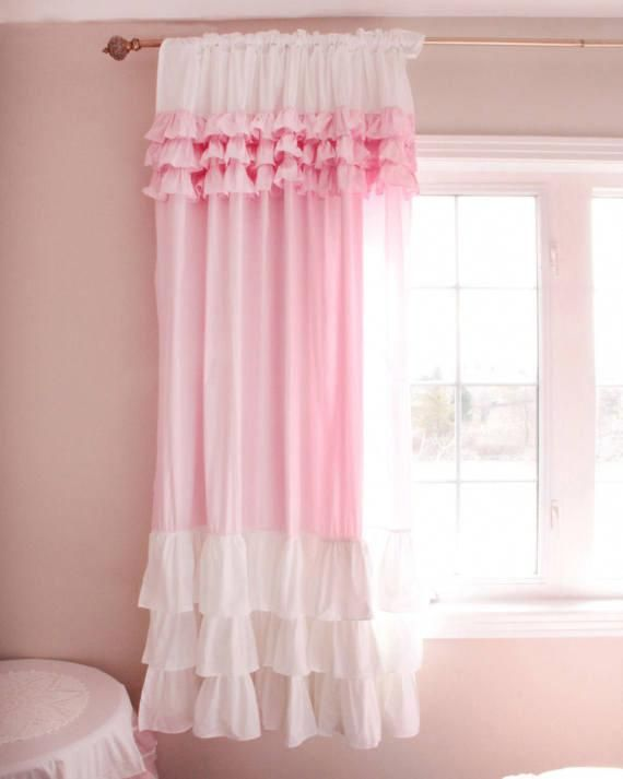 Shabby To Chic Five Ways To Revamp And Modernize Your Shabby Chic Room With Images Shabby Chic Girls Bedroom Cotton Curtains Shabby Chic Room