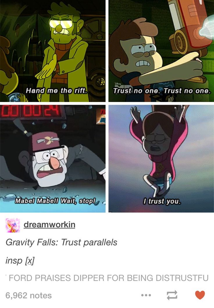 Gravity Falls aka why Stan and Mabel is an infinitely healthier relationship than Ford and Dipper
