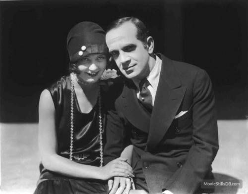"""Kittyinva: 1927 May McAvoy and Al Jolson publicity photo for ""The Jazz Singer"". From Movies of the 1920′s, FB. """