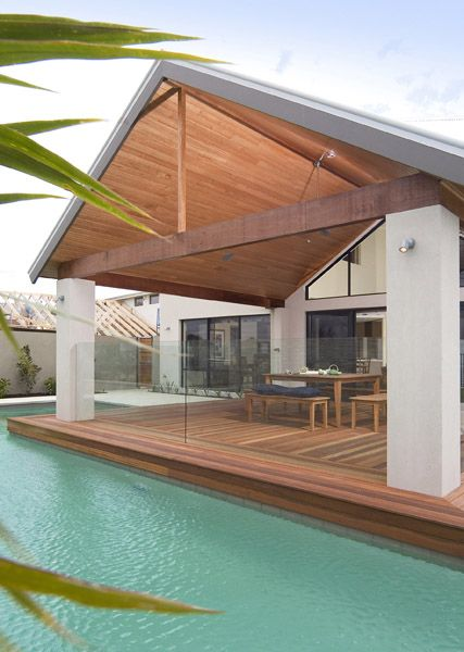 Timber Lined Patio Cover
