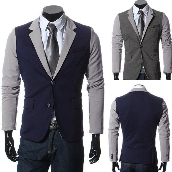 Best 25  Mens Casual Suits ideas on Pinterest | Casual suit, Grey ...