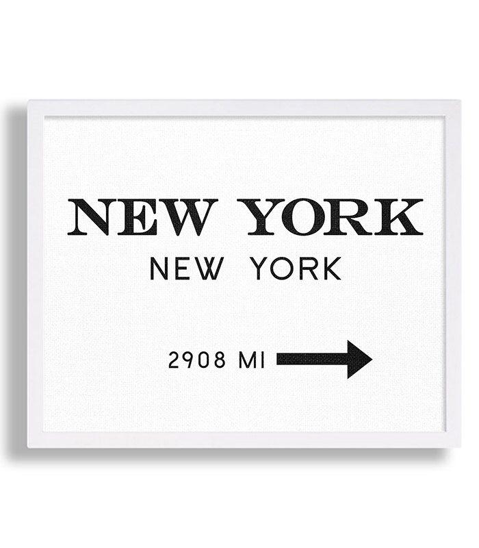 New York City Print Typography Art Print Gift for Him Fashion Art NYC Art Prada Marfa Sign Like in Gossip Girl Print Black and White Print von MetropolisPrints auf Etsy https://www.etsy.com/de/listing/228900510/new-york-city-print-typography-art-print