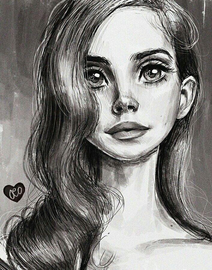 Lana Del Rey #LDR #art by Olivia (Duchess365) ♡♡♡