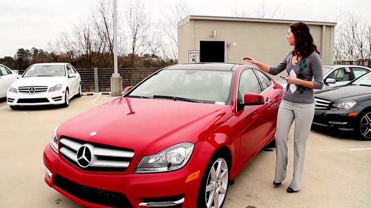 Beautiful red Mercedes C250 Coupe reviewed [ENG]