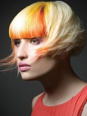 Dramatic Hair Color Ideas for Spring - Are you lusting after a seriously glamorous makeover? Choose one of these dramatic hair color ideas for spring lined up in this eclectic trend review.