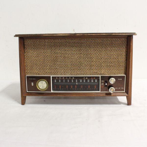Vintage Zenith K731 Long Distance Am Fm Radio Vintage Radio Antique Radio Vintage Tv