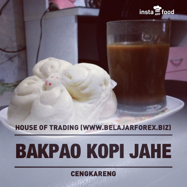 breakfast with bakpao, coffee & ginger