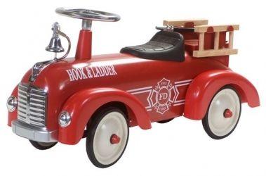 Sam Retro Roller #Loopauto #Speelgoed #Brandweer Retroroller-shop.nl  Hoppashops.nl Hoppa-toys.nl