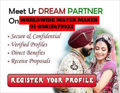 ELITE RAMGARHIA DHIMAN MATRIMONIAL SERVICES 91-09815479922 INDIA & ABROAD: HIGH STATUS RAMGARHIA DHIMAN MARRIAGE BEUREAU SERV...