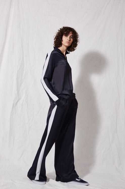 **Satin Sports Trousers by Boutique