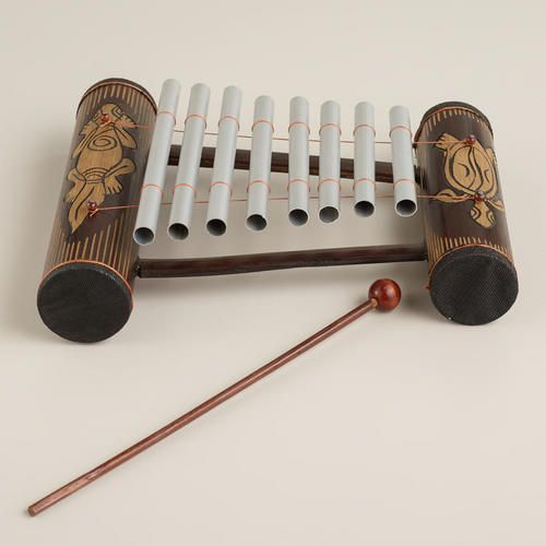 One of my favorite discoveries at WorldMarket.com: Turtle and Gecko Indonesian Gamelan Instrument
