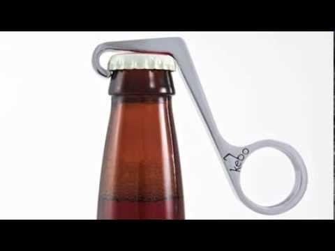 The One Handed Bottle Opener  http://www.rush3studio.com/kebo/