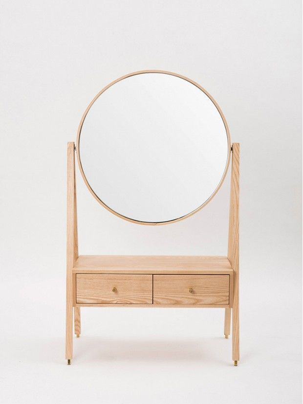 A Modern Take on a Queen Anne Dressing Table: One antique collectible plus heaps of modern, minimalist appeal. via @domainehome
