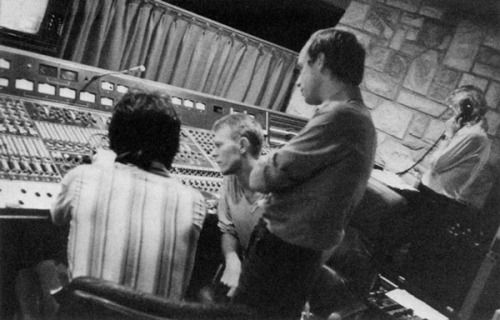 Brian Eno, David Bowie and Robert Fripp, 1977