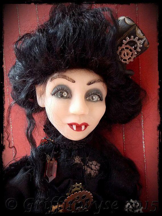 Vampire Art Doll  Lyra by Griffinwyse on Etsy