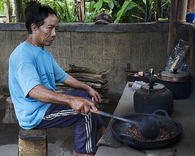 Gelas Kopi Indonesia - Indonesian Coffee Cup - Roasting