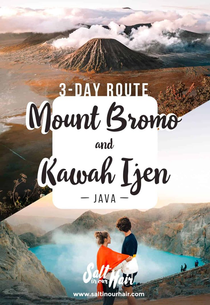 BROMO & IJEN TOUR – 3-day Trip Guide – Volcanoes and Waterfalls