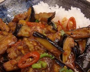 Spicy Sichuan aubergine!!