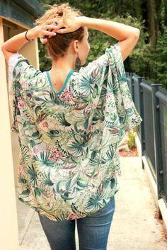 Kimono, patron maison