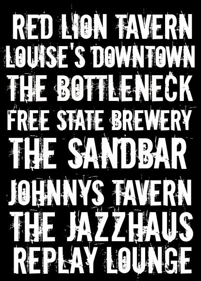 """Some of the best """"watering holes"""" in Lawrence! Cheers!!"""