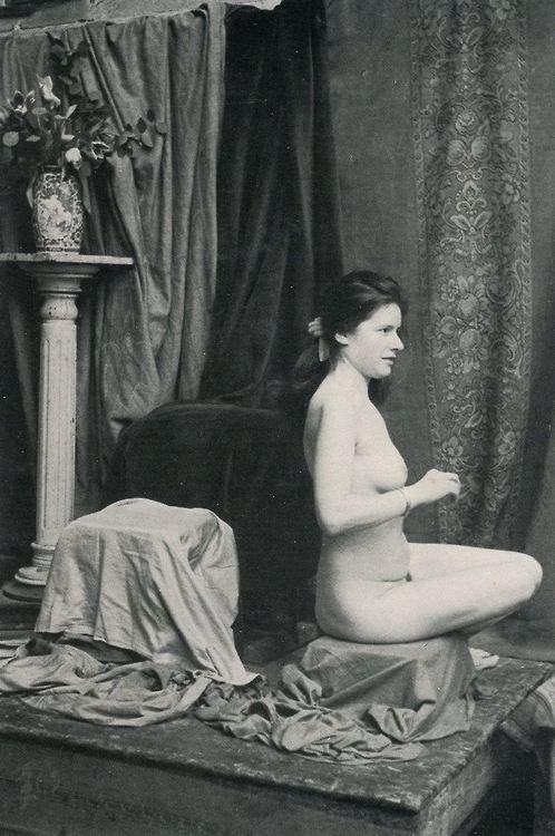 Edouard Boubat. Atelier de la grande chaumière 1964