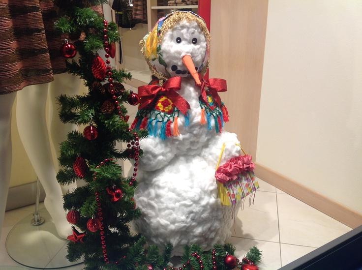 Christmas decoration at shop Boutique Niccoli