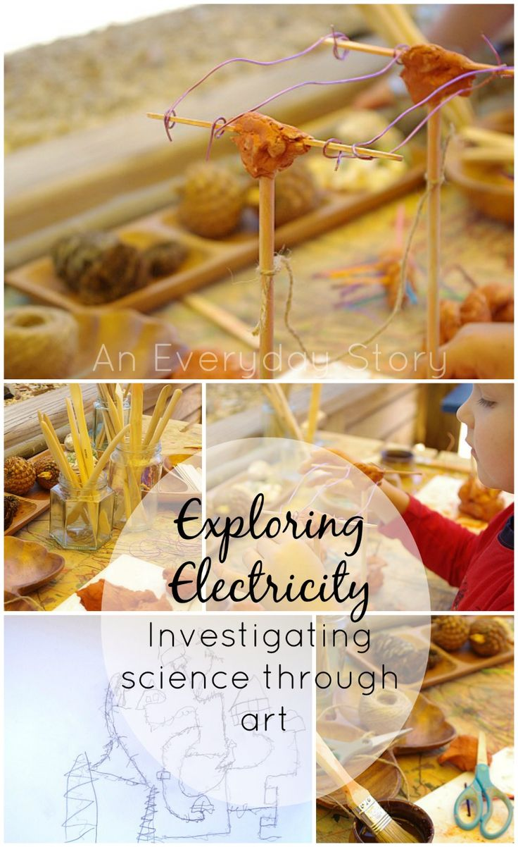 Exploring Electricity: Investigating science through art from An Everyday Story