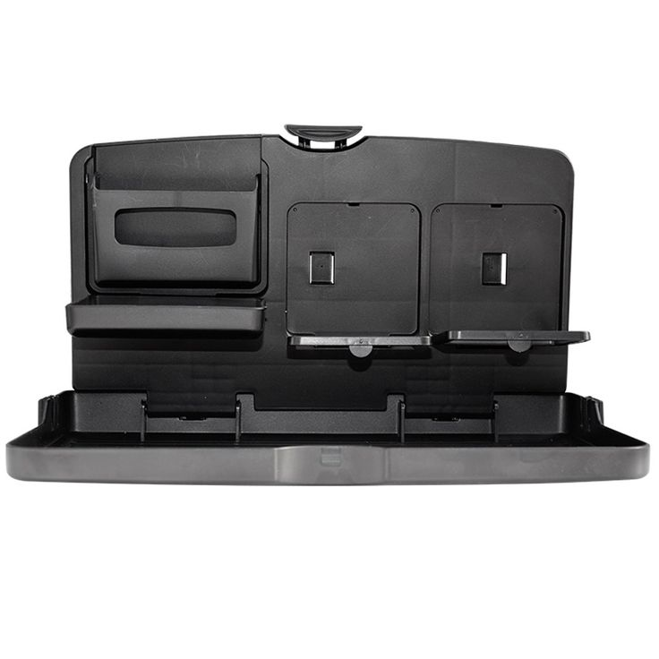 Stabile Design Pieghevole Universale Black Car Vassoio di Cibo Pieghevole Tavolo Da Pranzo Auto Portabibite Pallet
