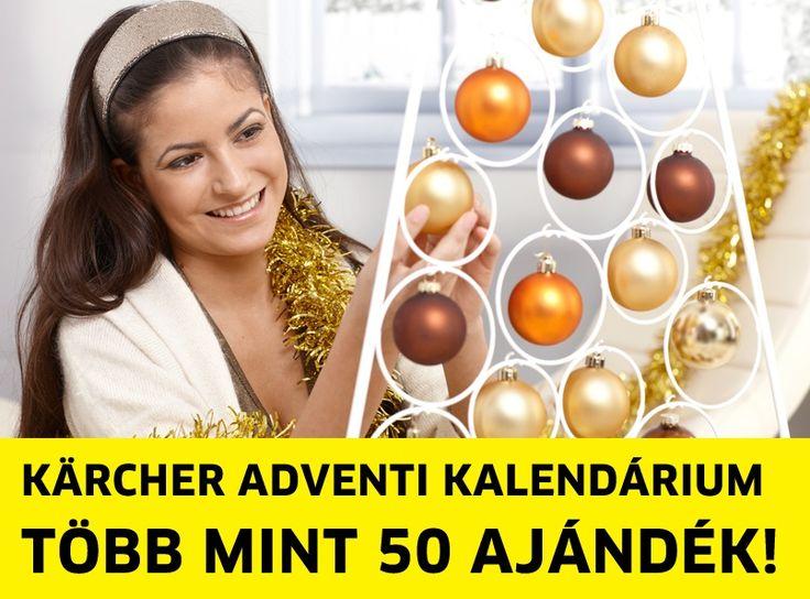 Elindult a Kärcher adventi kalendáriuma!  https://www.facebook.com/KarcherHungaria/app/262482900832831/