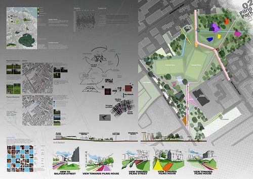 19 best ideas about landscape presentation boards on for Diploma of landscape design