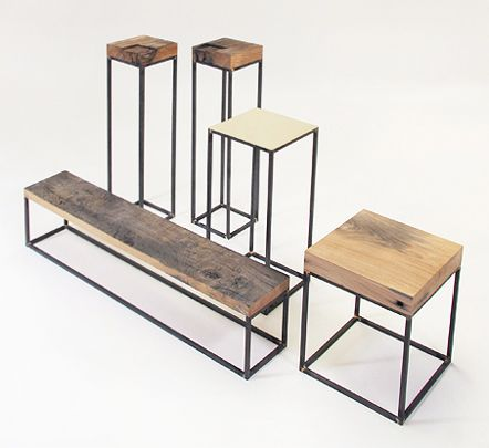 Pacha Design and their latest eco furniture collection made from locally sourced, reclaimed slate and wood