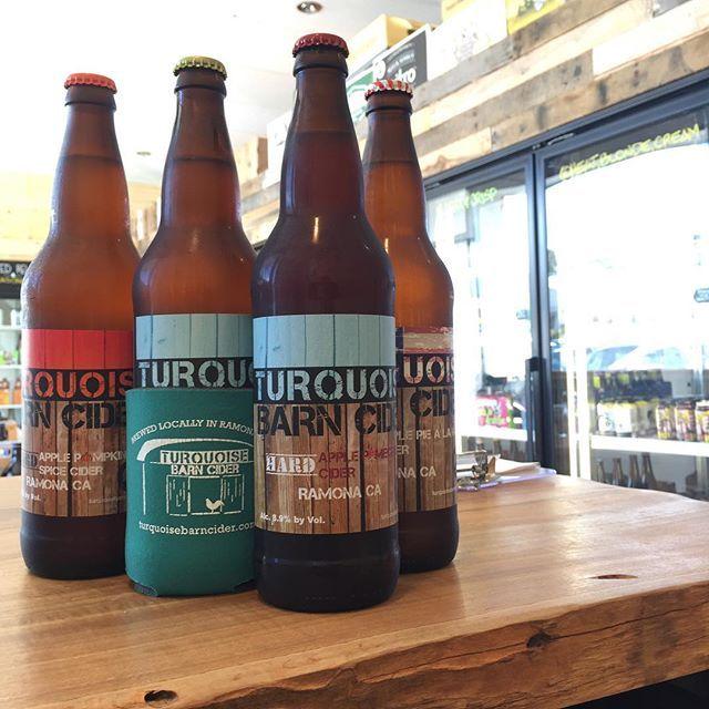 Have you tried @turquoisebarncider yet? 🍎🍏 Amazing local cider!!! Pumpkin Apple just arrived for fall!! 🍂 4 flavors and they're #GlutenFree ! . . . #AleTalesSD #AleTales #KnowYourBeer #Cider #SanDiego #SanDiegoBeer #LindaVista #DrinkSD #IndieBeer  #DrinkIndieBeer #IndependentBeer #CraftBeer #DrinkCraftBeer #BeerMe #InstaBeer #BeerGram #sandiego #sandiegoconnection #sdlocals #sandiegolocals - posted by Ale Tales https://www.instagram.com/aletalessd. See more San Diego Beer at…