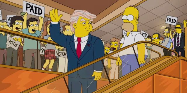 The Simpsons Banged Out a Brilliant Donald Trump Parody  - Esquire.com