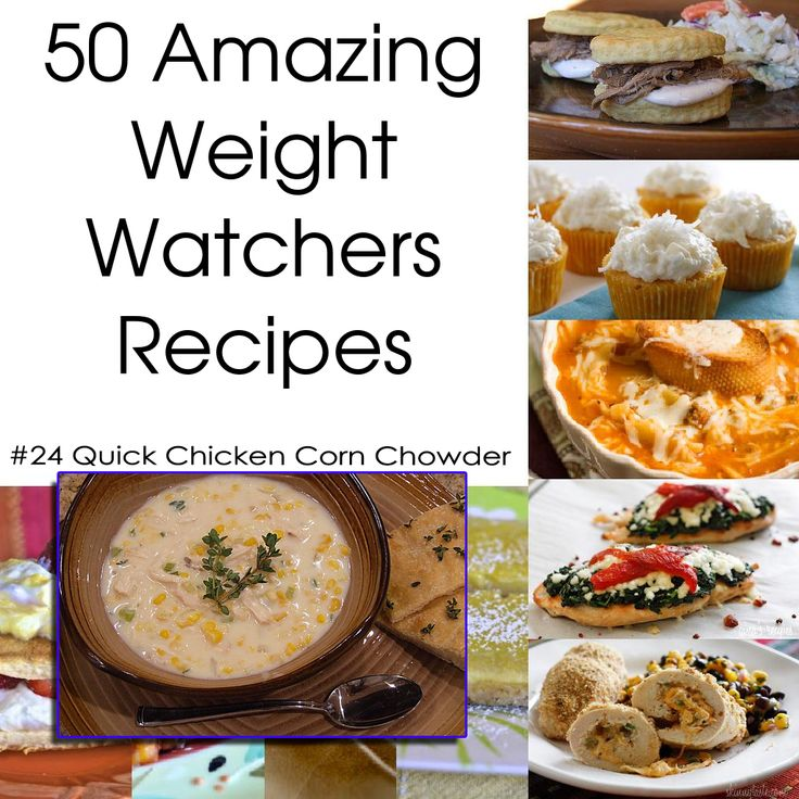 50 Amazing Weight Watchers Recipes - Quick Chicken Corn Chowder - adapt for Andrea