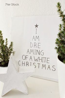 Leinwand White Christmas