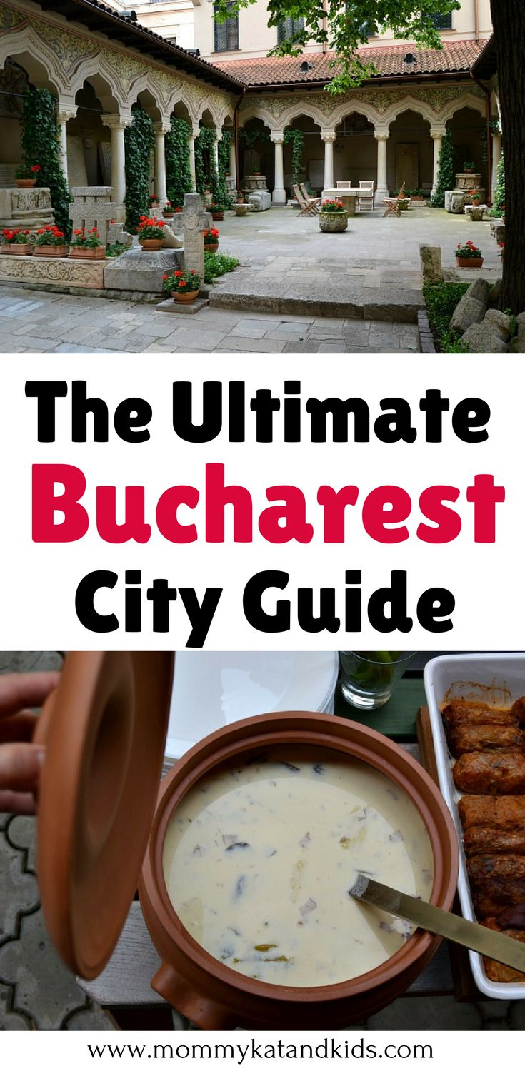 Bucharest, Romania is a beautiful European city. There are so many things to do in Bucharest and delicious food to eat in Bucharest. If you're planning a trip to Bucharest, you'll want to read this Bucharest city guide first so you know what to expect. Don't forget to save this Bucharest travel guide to your travel board so you can find it later.