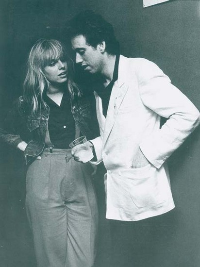 Ellen Foley from the 80's. She really rocked! (with Mick Jones)